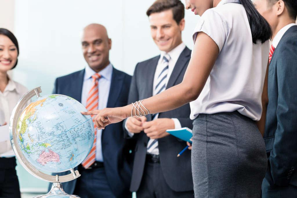 déménagement d'entreprise à l'international